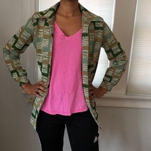 Jackets & Blazers - Vintage Funky Print Blazer